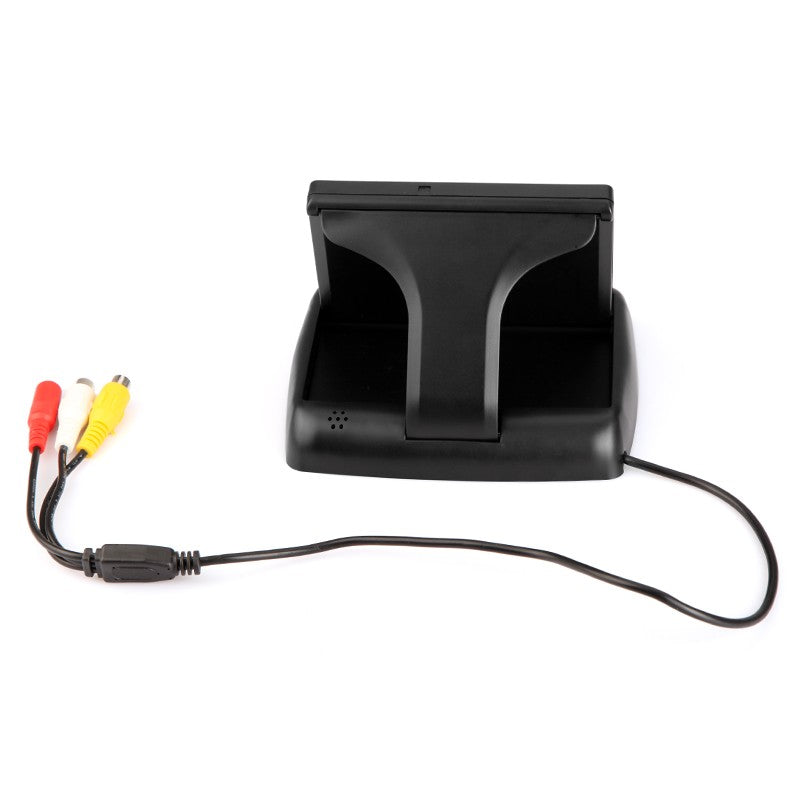Go2Funlive 4.3 Inch Foldable Tft Color Lcd Car Reverse Rearview Security Monitor For Camera Dvd Vcr