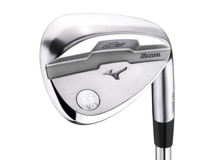 S18 White Satin Wedge