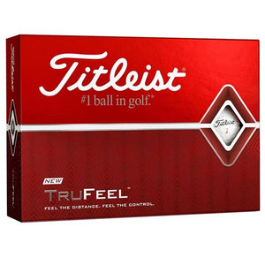 Titleist TruFeel - Sleeve (Millicent Crest on ball)