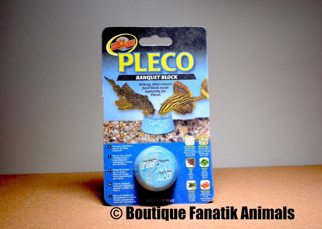 Pleco Banquet Block ZooMed Boutique Fanatik Animals