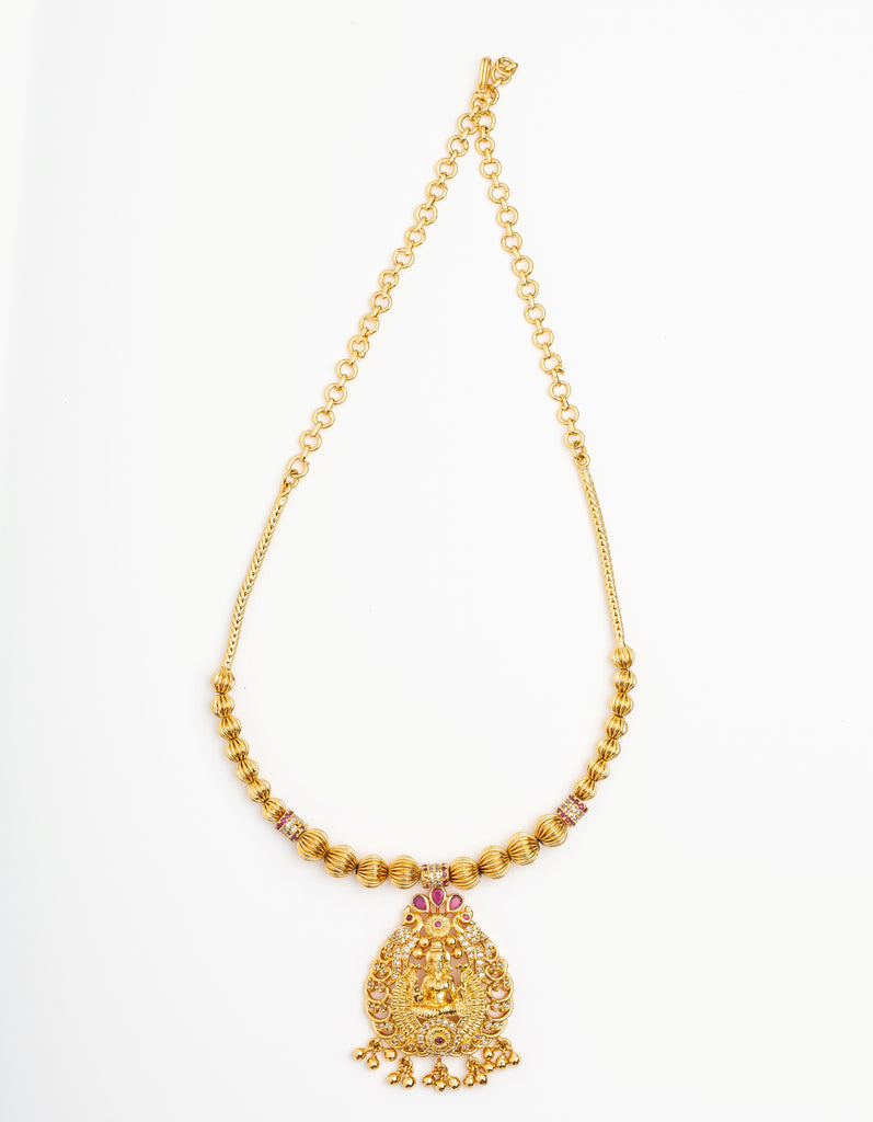 Serene Style Fashion Temple Necklace