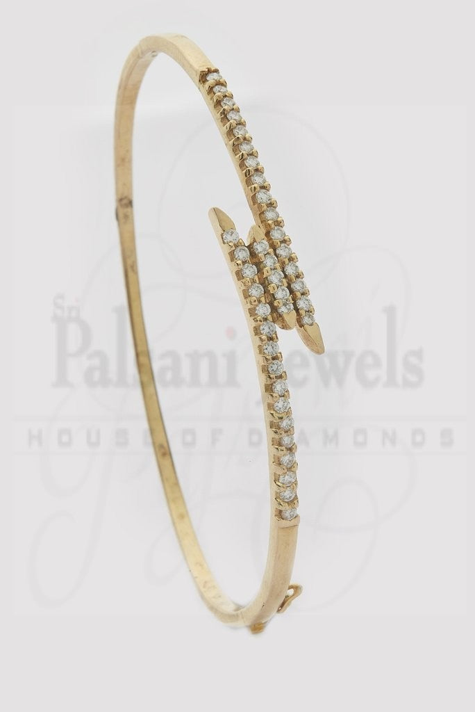 Tri Pretty Line Diamond Bracelet