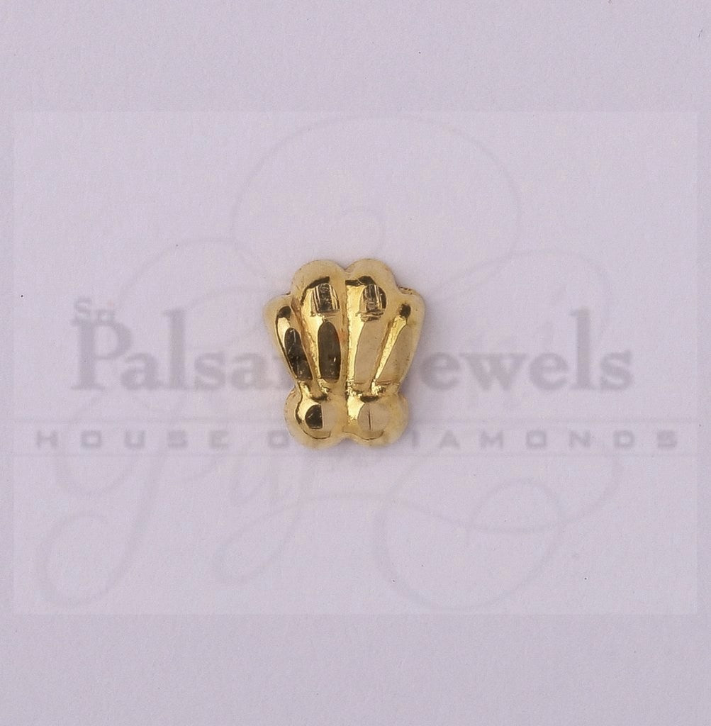 Four Line Gold Nose Pin