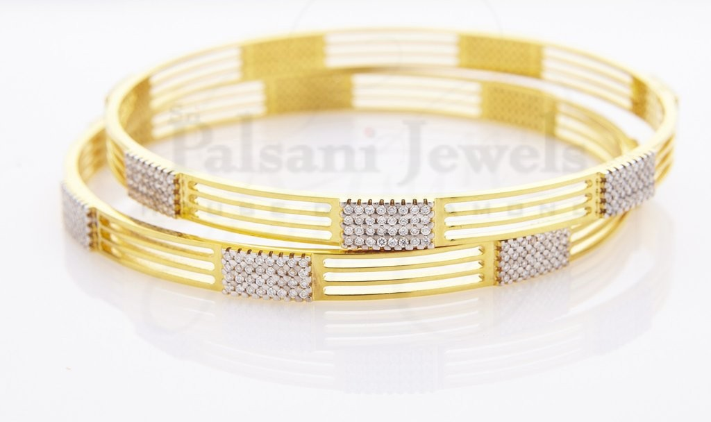 Tanisha Diamond Bangles
