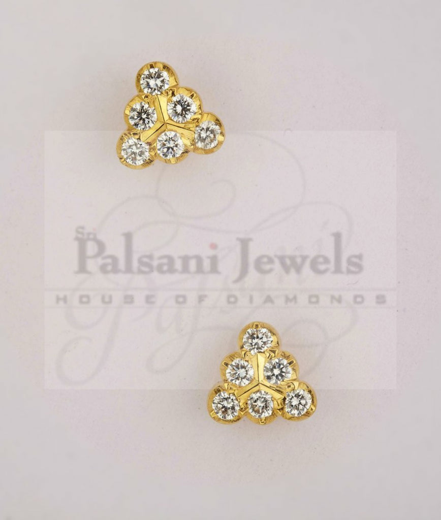 Kelby Diamond Studs