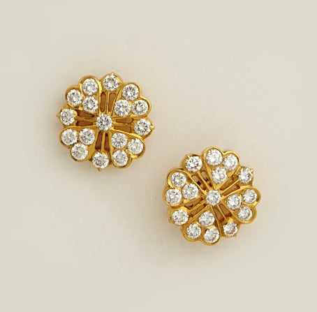 Rising Star Diamond Studs