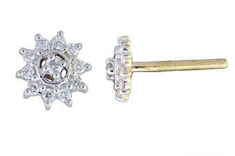 Shiny Surya Light Weight Diamond Earrings