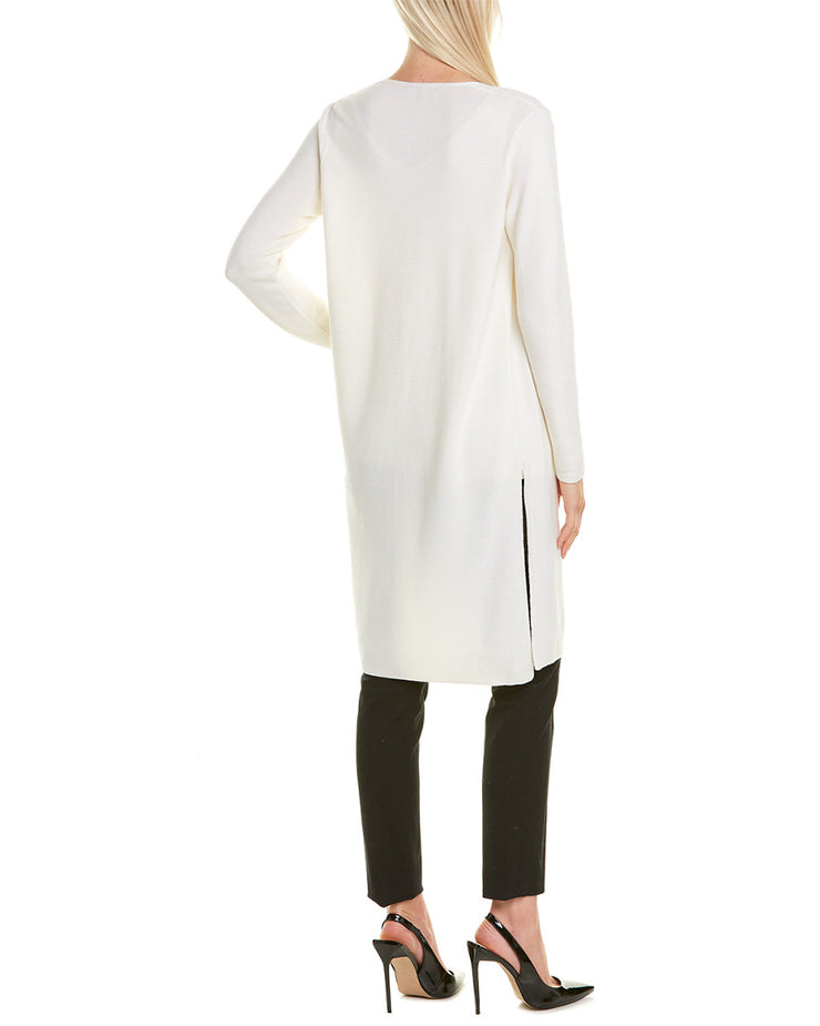Lafayette 148 New York Silk-Blend Cardigan