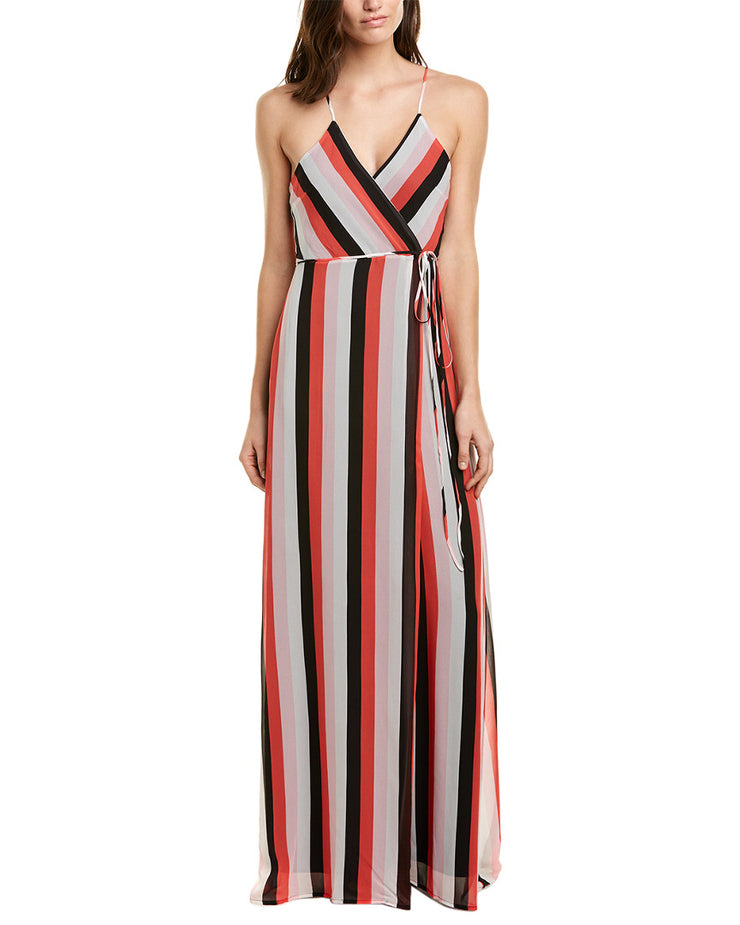 Karina Grimaldi Dolo Wrap Dress