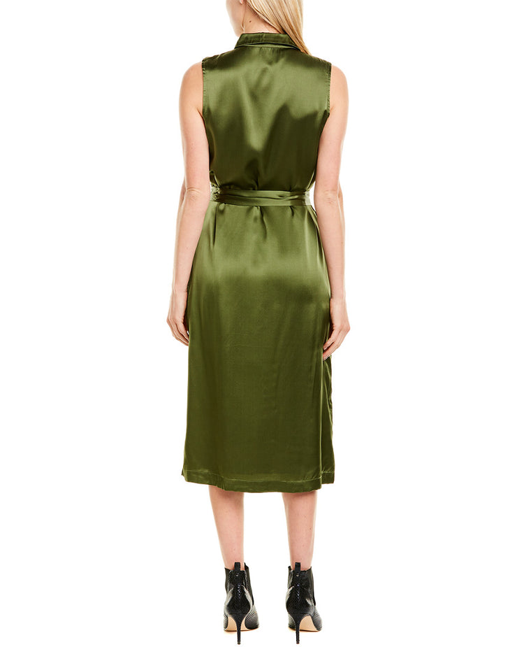 Cami NYC The Edie Silk Midi Dress
