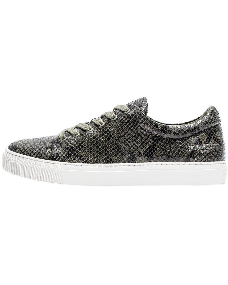 Zadig & Voltaire Fred Wild Leather Sneaker