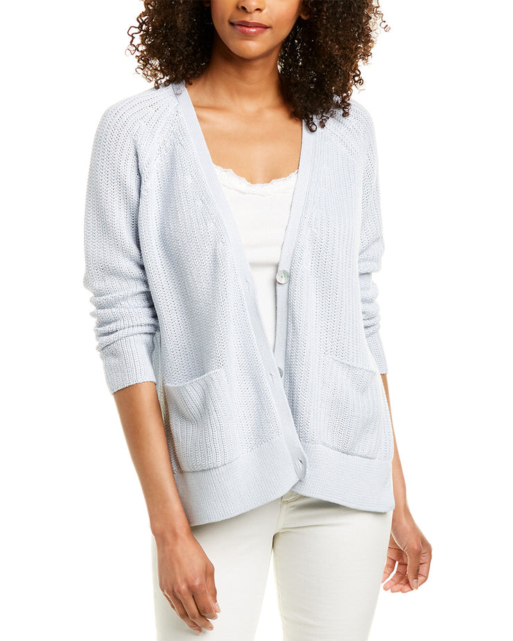 EILEEN FISHER Corded Cardigan