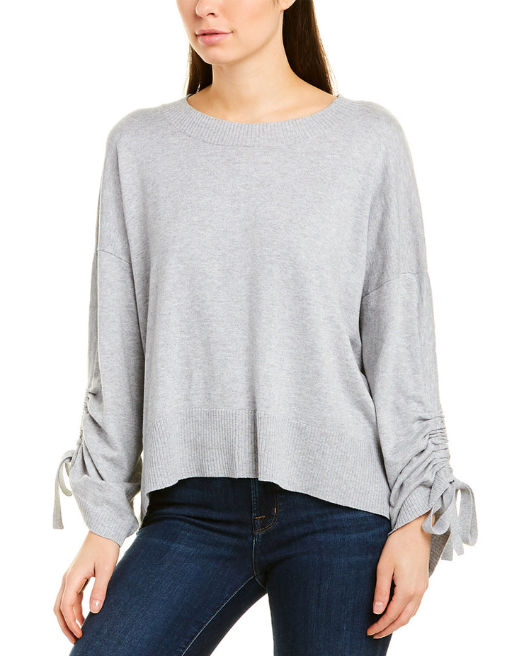 Michael Stars Cinched Sleeve Pullover