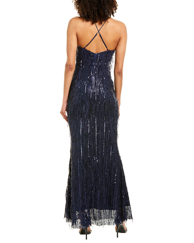 KALINNU Sequined Gown