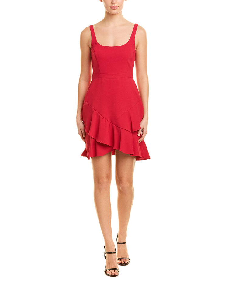 BCBGMAXAZRIA Ruffle Dress
