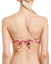 Red Carter Floral Bandeau