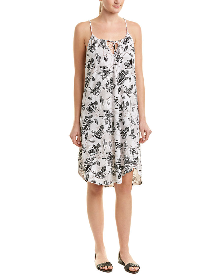 Michael Stars Halter Floral Shift Dress