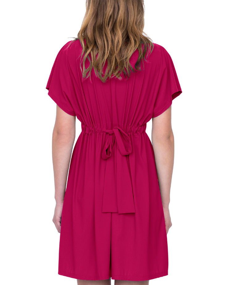 Gottex Lattice Cover-Up Dress