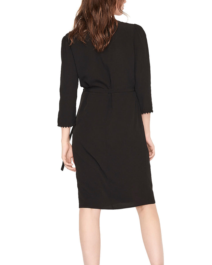 ba&sh Copper Wrap Dress