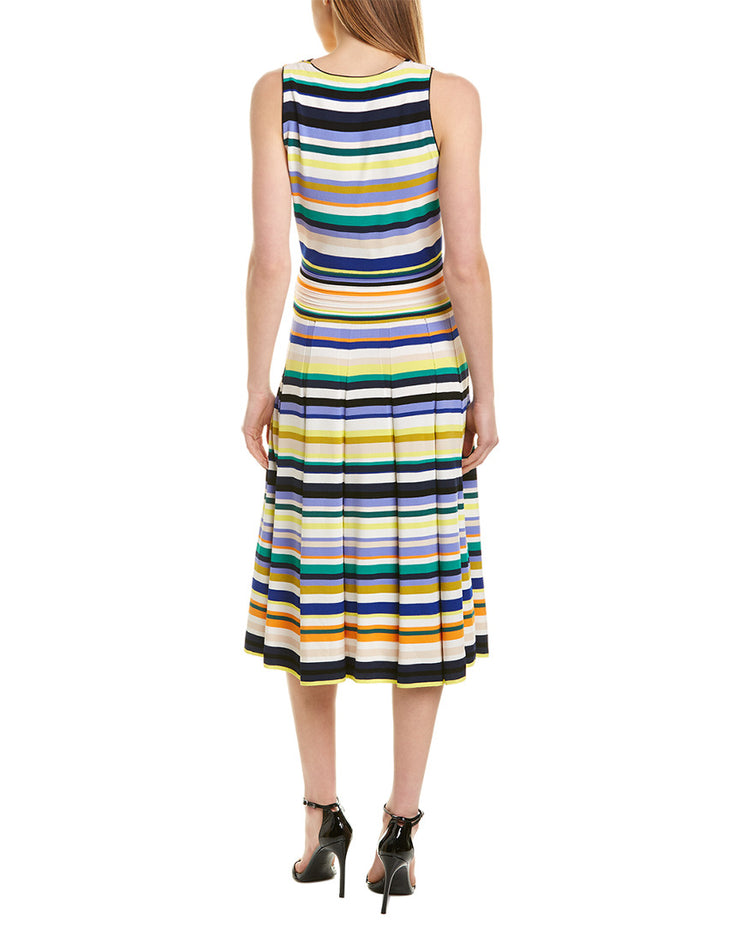 Milly Surplice Midi Dress