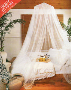 Items #146-#149 The Traditional Net with Rattan Ring