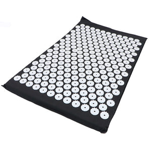 Massager Mat with Pillow Cushion Acupressure Relieve Stress Massage Yoga Mat  Back Body Pain Spike Mat Acupuncture Massage Yoga