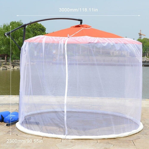 Item #450 Outdoor Umbrella Mosquito Net