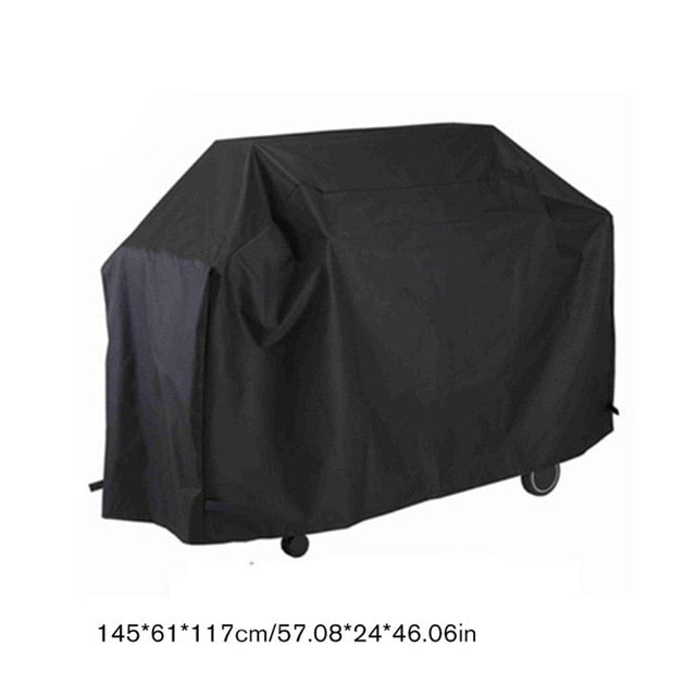 Oxford Cloth Outdoor Waterproof Heavy Duty Gas Barbecue BBQ Grill Cover Anti-UV Garden Furniture Dust Cover