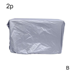 1Pcs Air Conditioner Cover Rainproof Waterproof Sunscreen Outdoor Hood Air Conditioner Cover Polyester Waterproof Cover