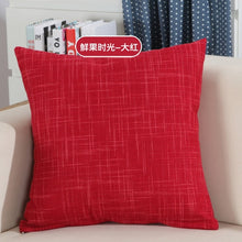 Load image into Gallery viewer, Solid Sofa Waist Cushion Cover Pillow 30x50/40x40/45x45/40x60/50x50/55x55/60x60cm Cheaper Decorative Throw Pillowcase  for Home