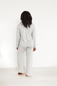 Lauren PJs- Heather Grey
