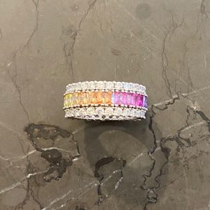 Eternity Baguette Ring
