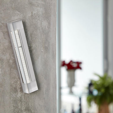 Large Mezuzah - Gray