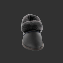 Load image into Gallery viewer, Mens Leather Lazy Bone Slippers