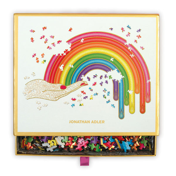 Rainbow Hand 750 Pc. Shaped Puzzle