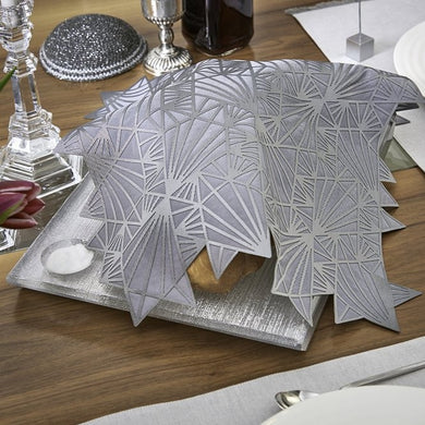 Challah Cover - Silver