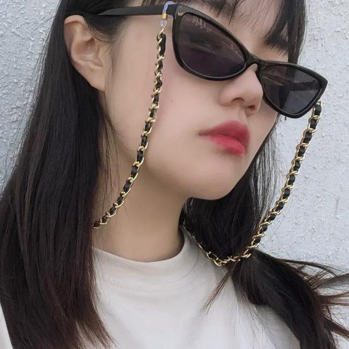 Gold Link Eye Glass Chains