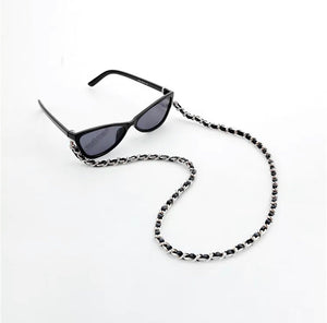 Silver Link Eye Glass Chains