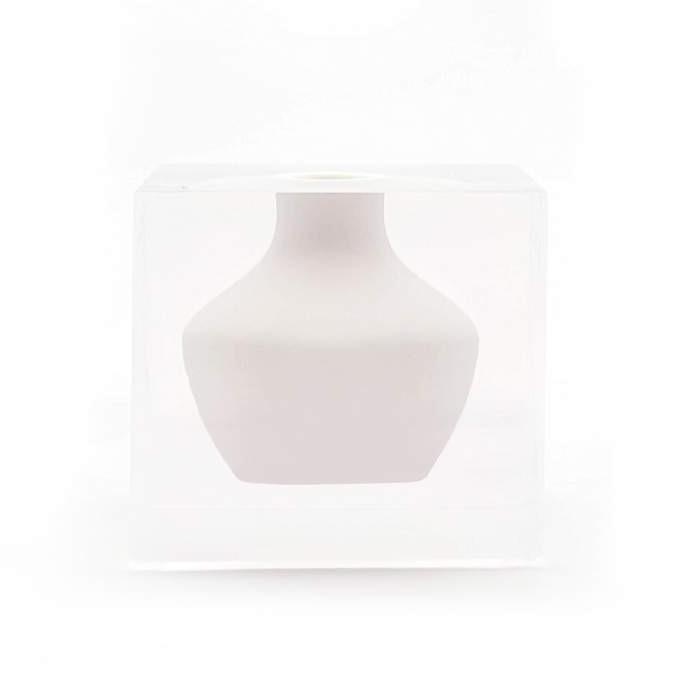 Doyers Bud Vase - Hamptons White