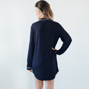 Elliot Navy Nightie