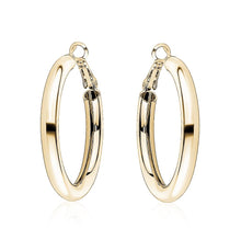 Load image into Gallery viewer, Tube Hoop Earrings