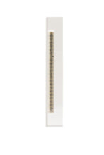 Load image into Gallery viewer, Large Mezuzah - White