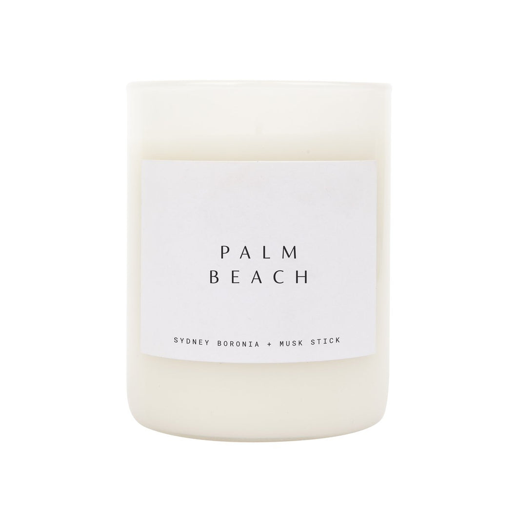 Scented Candle Large: Palm Beach