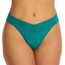 Load image into Gallery viewer, Signature Lace Original Rise Thong- So Jaded