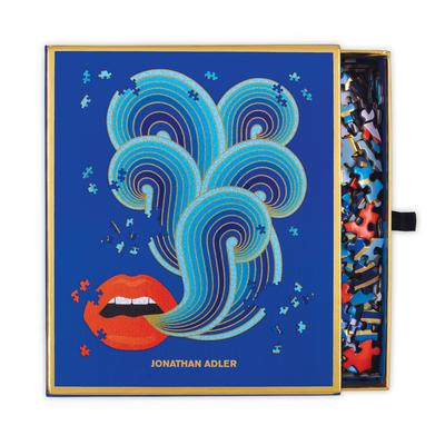 Lips Shaped 750Pc Puzzle