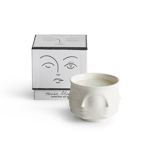 Muse Blanc Candle | White