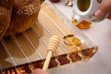 Load image into Gallery viewer, Challah Board Striped - Honey