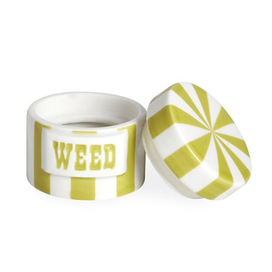 Vice Canister - Weed | Lime/White