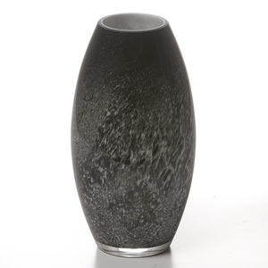 Tall Rounded Glass Vase