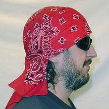 Load image into Gallery viewer, Red Paisley Skulldana®